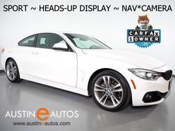 2016_BMW_4 Series 428i Coupe_*SPORT LINE, HEADS-UP DISPLAY, NAVIGATION, BACKUP-CAMERA, DAKOTA LEATHER, MOONROOF, HEATED SEATS/STEERING WHEEL, COMFORT ACCESS, BLUETOOTH_ Round Rock TX