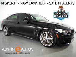 2016_BMW_4 Series 428i Gran Coupe_*M SPORT, HEADS-UP DISPLAY, BLIND SPOT ALERT, DRIVING ASSISTANT, NAVIGATION, SIDE/TOP/REAR CAMERAS, HARMAN/KARDON, ADAPTIVE M SUSPENSION, HEATED SEATS/STEERING WHEEL, MOONROOF_ Round Rock TX