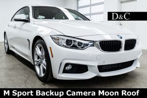 2016 BMW 4 Series 428i Gran Coupe M Sport Backup Camera Moon Roof