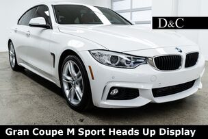 2016 BMW 4 Series 428i Gran Coupe M Sport Heads Up Display