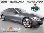 2016 BMW 4 Series 428i Gran Coupe *SPORT, HEADS-UP DISPLAY, NAVIGATION, BACKUP-CAMERA, MOONROOF, HARMAN/KARDON, LEATHER, HEATED SEATS, BLUETOOTH PHONE & AUDIO
