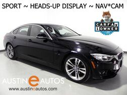 2016_BMW_4 Series 428i Gran Coupe_*SPORT LINE, HEADS-UP DISPLAY, NAVIGATION, BACKUP-CAMERA, MOONROOF, HEATED SEATS/STEERING WHEEL, COMFORT ACCESS, LEATHER, BLUETOOTH_ Round Rock TX