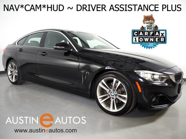 2016 BMW 4 Series 428i Gran Coupe *SPORT LINE, HEADS-UP DISPLAY, NAVIGATION, BLIND SPOT ALERT, DRIVING ASSISTANT, LEATHER, MOONROOF, HEATED SEATS, BLUETOOTH Round Rock TX