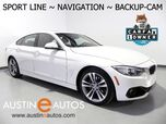 2016 BMW 4 Series 428i Gran Coupe *SPORT LINE, NAVIGATION, BACKUP-CAMERA, DAKOTA LEATHER, MOONROOF, COMFORT ACCESS, HEATED SEATS, BLUETOOTH PHONE & AUDIO