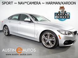 2016_BMW_4 Series 428i Gran Coupe_*SPORT LINE, NAVIGATION, BACKUP-CAMERA, MOONROOF, DAKOTA LEATHER, HEATED SEATS, HARMAN/KARDON, COMFORT ACCESS, BLUETOOTH_ Round Rock TX