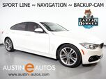 2016 BMW 4 Series 428i Gran Coupe *SPORT LINE, NAVIGATION, BACKUP-CAMERA, MOONROOF, LEATHER, HEATED SEATS, COMFORT ACCESS, BLUETOOTH PHONE & AUDIO