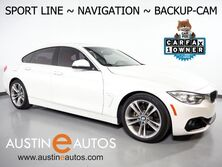 BMW 4 Series 428i Gran Coupe *SPORT LINE, NAVIGATION, BACKUP-CAMERA, MOONROOF, LEATHER, HEATED SEATS, COMFORT ACCESS, BLUETOOTH PHONE & AUDIO 2016