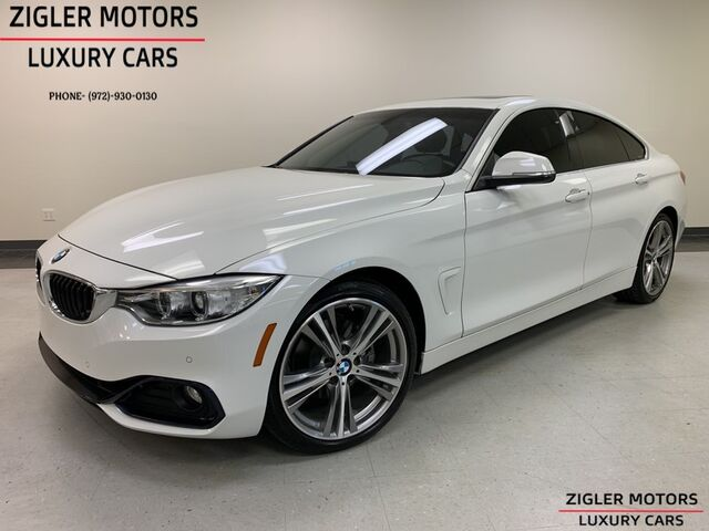 2016 BMW 4 Series 428i Gran Coupe Sport Package low miles Clean Carfax Addison TX