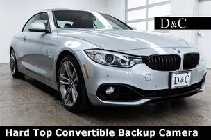 2016 BMW 4 Series 428i Hard Top Convertible Backup Camera