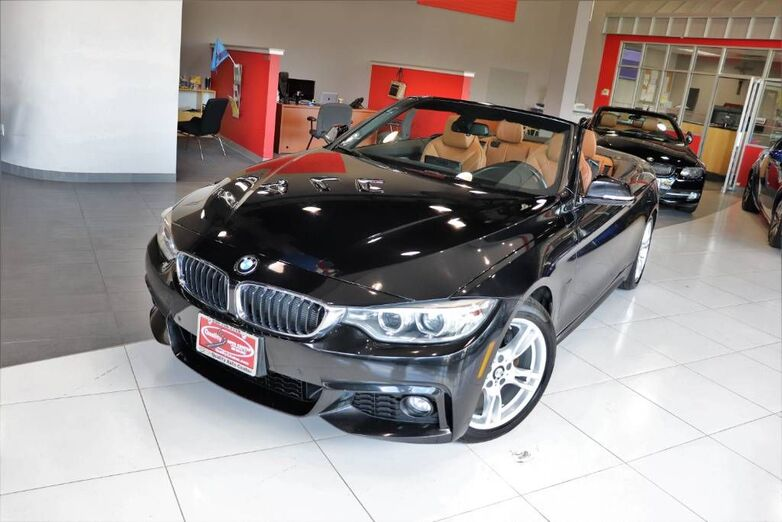 2016 BMW 4 Series 428i M Sport Navigation Driving Assistance Package Saddle Brown Leather Side Top View Camera Heated Front Seats Harmon Kardon Springfield NJ
