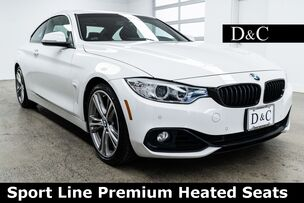 2016 BMW 4 Series 428i Sport Line Premium Heated Seats