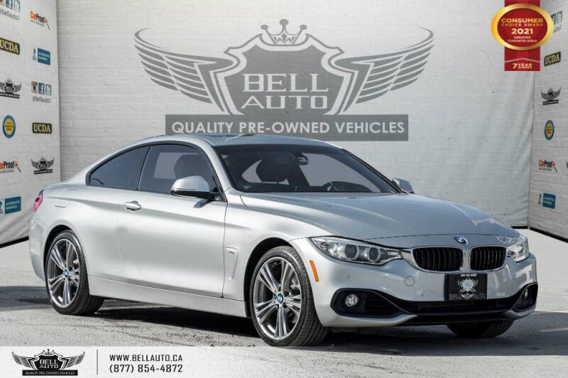 2016 BMW 4 Series 428i xDrive, AWD, COUPE, NAVI, REAR CAM, RED INT, SUNROOF Toronto ON