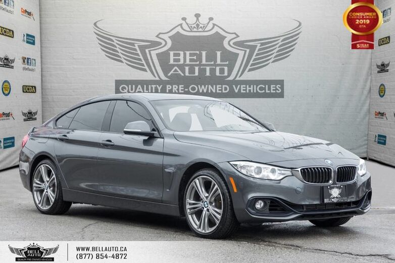 2016 BMW 4 Series 428i xDrive, GRAN COUPE, AWD, NAVI, BACK-UP CAM Toronto ON