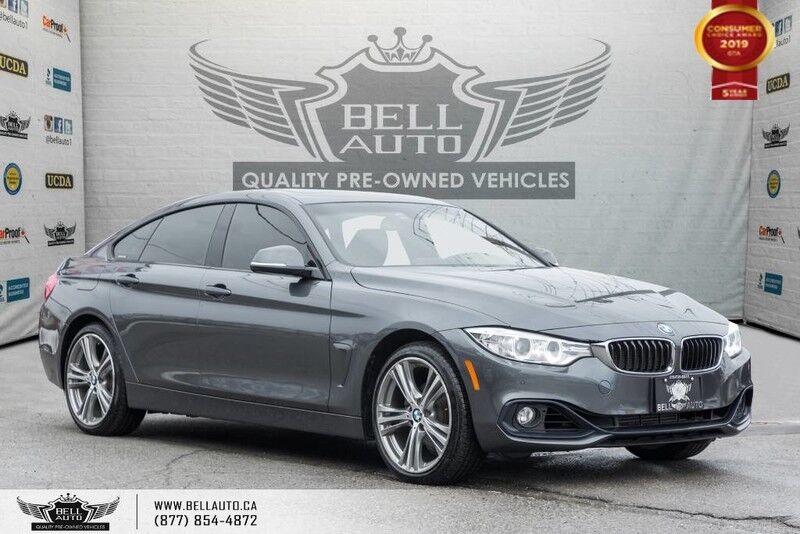 2016 BMW 4 Series 428i xDrive, GRAN COUPE, AWD, NAVI, BACK-UP CAM
