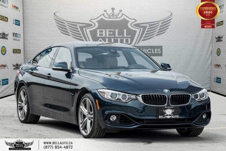 2016 BMW 4 Series 428i xDrive, GRAN COUPE, AWD, NO ACCIDENT, NAVI, REAR CAM Toronto ON