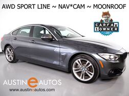 2016_BMW_4 Series 428i xDrive Gran Coupe AWD_*NAVIGATION, BACKUP-CAMERA, MOONROOF, HEATED SEATS, POWER TAILGATE, BLUETOOTH PHONE & AUDIO_ Round Rock TX