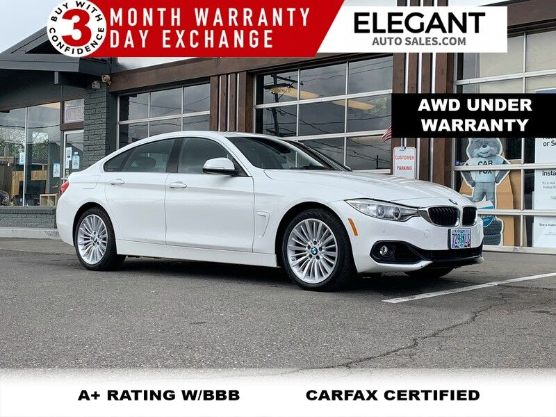 2016 BMW 4 Series 428i xDrive Gran Coupe AWD UNDER WARRANTY 20K MILES