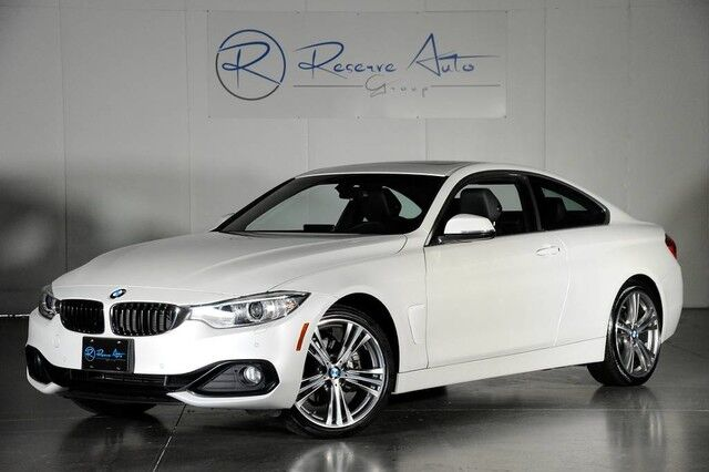 2016 BMW 4 Series 428i xDrive M-Sport Whl Pkg Navigation Drive Assist Pkg The Colony TX
