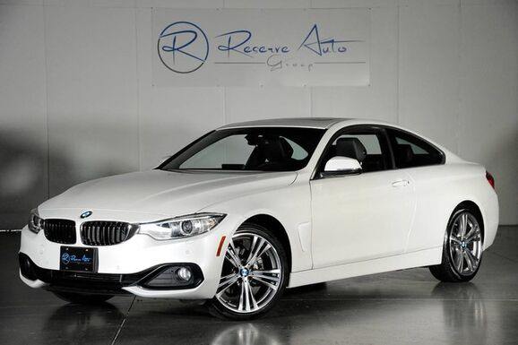 2016_BMW_4 Series_428i xDrive M-Sport Whl Pkg Navigation Drive Assist Pkg_ The Colony TX