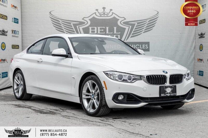 2016 BMW 4 Series 428i xDrive, NAVI, BACK-UP CAM, SUNROOF, SENSORS