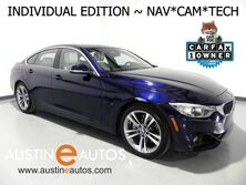 BMW 4 Series 435i Gran Coupe *INDIVIDUAL EDITION, HEADS-UP DISPLAY, NAVIGATION, BACKUP-CAMERA, HARMAN/KARDON, FULL MERINO LEATHER, HEATED SEATS, MOONROOF, BLUETOOTH 2016