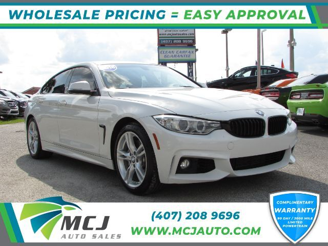 2016 BMW 4-Series Gran Coupe 428i M-Sport SULEV