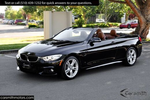2016 BMW 428 M Sport Convertible Drivers Assistance MSRP $61,420 Saddle Brown Leather/Harmon Kardon/Side & Top Cameras Fremont CA