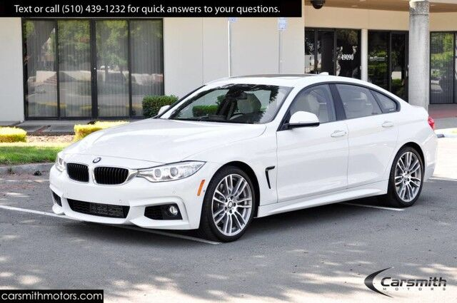 2016 BMW 428 M Sport Sedan w/ Tech Pkg/Heads Up/ MSRP $53,295 19 Wheels/Drivers Assistance/Navigation Fremont CA