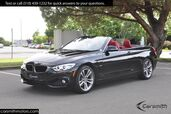 2016 BMW 428 Sport Convertible/Drivers Assistance Plus MSRP $60,520 Tech with Heads Up/ONLY 15K Miles!!!/Red Leather
