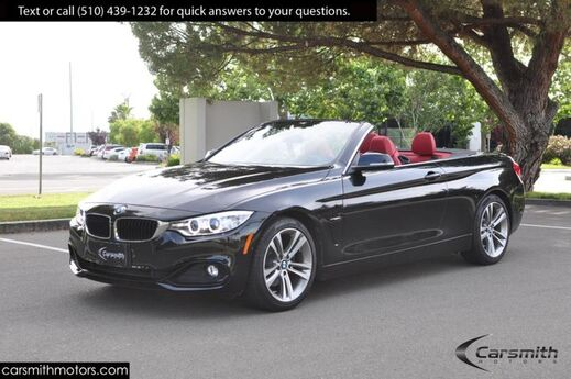 2016 BMW 428 Sport Convertible/Drivers Assistance Plus MSRP $60,520 Tech with Heads Up/ONLY 15K Miles!!!/Red Leather Fremont CA