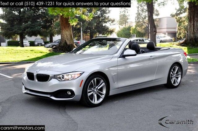 2016 BMW 428 Sport Convertible w/Drivers Assistance Pkg MSRP $58,020 Premium Pkg/Harmon Kardon/Heated Seats Fremont CA