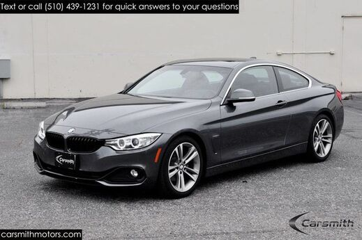 2016 BMW 428 Sport Coupe w/ Drivers Assistance MRSP $48,995 Premium/18 Wheels/One Owner Fremont CA
