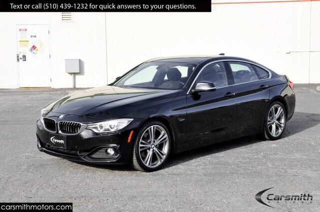 2016 BMW 428 Sport Sedan w/ Tech Pkg/ Head Up Display MSRP $51,370 ONLY 12K MILES!!!/19 Wheels/Harmon Kardon Fremont CA