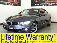 BMW 428i CONVERTIBLE SPORT LINE NAVIGATION HEAD UP DISPLAY NECK WARMER REAR CAMERA 2016