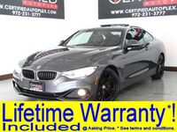 BMW 428i COUPE SPORT LINE NAVIGATION SUNROOF REAR CAMERA PARK ASSIST HEATED LEATHER 2016
