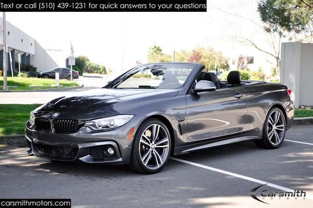 2016 BMW 435 M SPORT CONVERTIBLE. FULLY LOADED!! MSRP$70970 TRACK HANDLING/M POWER KIT/DRIVERS ASSISTANCE Fremont CA