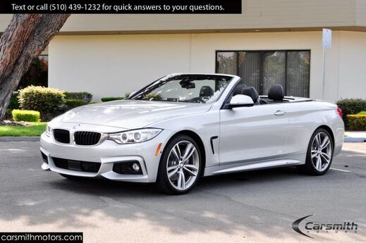 2016 BMW 435 M SPORT CONVERTIBLE. FULLY LOADED!! MSRP$73340 ACTIVE CRUISE/M POWER KIT/DRIVERS ASSISTANCE Fremont CA