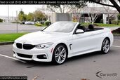 2016 BMW 435 M Sport Convertible MSRP $66,285 COLD WEATHER PKG Technology with Heads Up/Cold Weather/Drivers Assistance