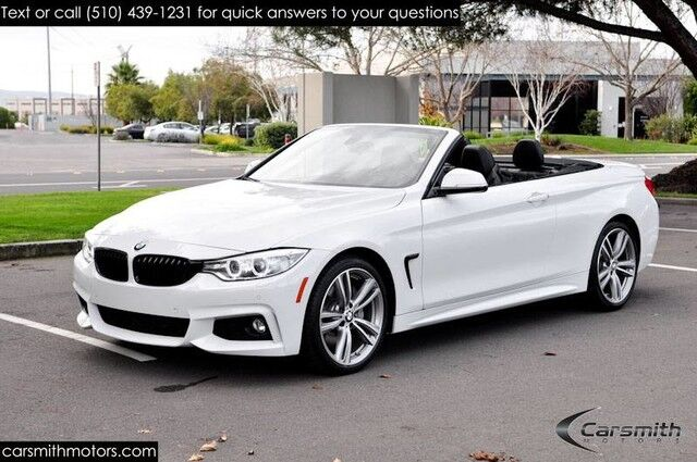 2016 BMW 435 M Sport Convertible MSRP $66,285 COLD WEATHER PKG Technology with Heads Up/Cold Weather/Drivers Assistance Fremont CA