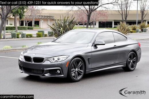 2016 BMW 435 M Sport Coupe Drivers Assistance Pkg/MSRP $58845 Tech Pkg with Heads Up/19 M Black Wheels/Harmon Kardon Fremont CA