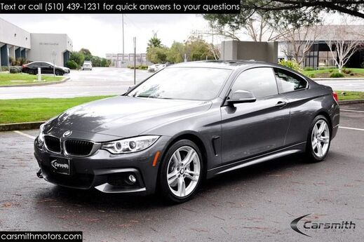 2016 BMW 435 M Sport Coupe with Drivers Assistance Plus MSRP $58,845 Drivers Assistance Pkg/One Owner/ RARE Saddle Brown Interior Fremont CA