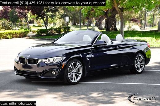 2016 BMW 435 Sport Convertible Rare Tanzanite Blue MSRP $68,575 Cold Weather/Technology/Rare Individual Edition Interior Fremont CA