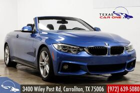 2016_BMW_435i Convertible_M SPORT PKG DRIVER ASSIST PKG NAVIGATION HARMAN KARDON REAR CAME_ Carrollton TX