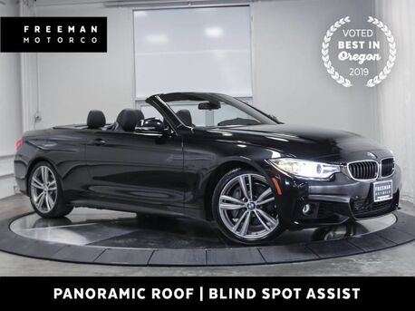 2016_BMW_435i_Convertible M Sport Htd Seats Neck Warmer Nav_ Portland OR