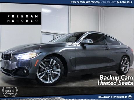 2016_BMW_435i_Sport Line Backup Cam Heated Seats_ Portland OR
