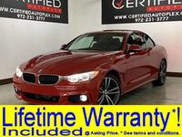 BMW 435i XDRIVE HARD TOP CONVERTIBLE M SPORT DRIVE ASSIST PLUS PKG LIGHT PKG TECH PK 2016