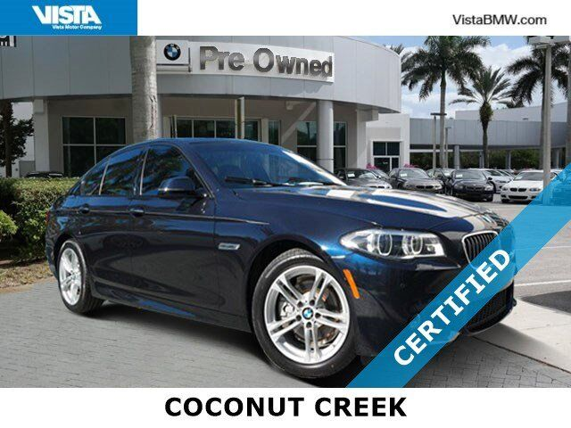 2016 BMW 5 Series 528i Coconut Creek FL