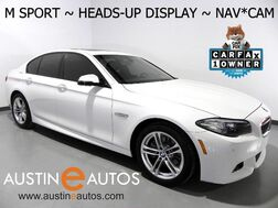 2016_BMW_5 Series 528i_*M SPORT, HEADS-UP DISPLAY, NAVIGATION, BACKUP-CAMERA, MOONROOF, NAPPA LEATHER, HEATED SEATS, POWER TRUNK, BLUETOOTH PHONE & AUDIO_ Round Rock TX