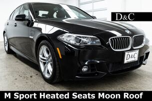 2016 BMW 5 Series 528i M Sport Heated Seats Moon Roof