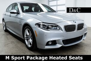 2016 BMW 5 Series 528i M Sport Package Heated Seats